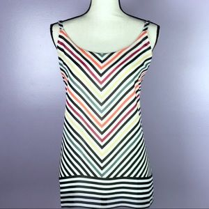 Cabi  Size Small Striped Tank Adjustable Strap